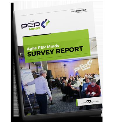 Umfrageergebnisse Survey Report Agile PEP Minds